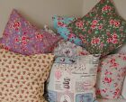 """Vintage Cushion Covers. 16""""/40cm Floral Chic Retro French Cottage Designer Gift"""