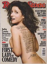 Rolling Stone Magazine #1207 April 24,2014,THE FIRST LADY OF COMEDY,NEW NO LABEL