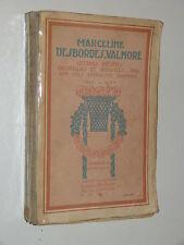M. Desbordres-Valmore LETTRES INÉDITES recueillies par son fils 1812-57 MICHAUD