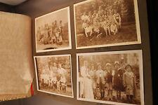 FOTOALBUM über 130 Fotos 1919 und älter bis 30er Jahre schwarz weiß sepia old