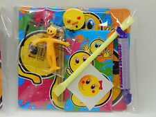 Pre Filled Party Bags Birthday Emoji Emoticon Favours Treats Toys Sweets