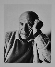 Cecil Beaton Ltd. Ed. Photo Heliogravure 30x40 Pablo Picasso 1965 B&W Portrait