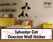 Looney Tunes - Sylvester Cat Custom Vinyl Sticker