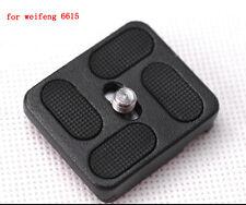 Fancier Weifeng WF-6615 B 861 ball head metal quick release plate NEW original