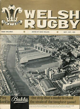 WELSH RUGBY MAG SEPTEMBER/OCTOBER1970 CARDIFF ARMS PARK OPENING SPECIAL ISSUE