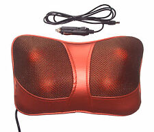 AUTO CASA CUSCINO LOMBARE FULL Body Massage Cuscino Shiatsu Massaggiatore Remote yne
