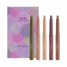 Tarte Cream Shadow Wand Set 5 Piece Full Size $125 Value New in Box