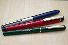 Set Of 3 Camlin kokuyo Fountain Pens-F.P-47(Piston-Filler)FP-2(ED),FP-MINI(E.D)