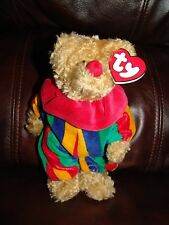 """NWT 1993 Ty Beanie Babies Attic Treasures Collection Piccadilly the Clown 8"""""""