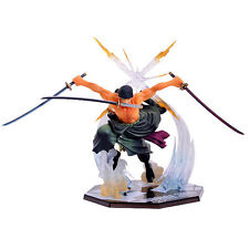 "One Piece Anime Roronoa Zoro Battle Ver 8.26"" PVC Figure New with original box"