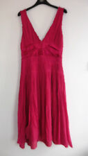 Gorgeous Pink Silk Fully Lined Dress from New Look - Size 12 - Lovely Condition