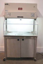 "NuAire NU-607-400 43"" Enclosed Vented Fume Hood with wheeled cart"