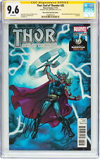 THOR #25 in NEAR MINT+ CGC 9.6 SS Signed CHRIS HEMSWORTH  Nashville Wizard World