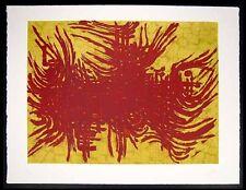 Edgard PILLET - Gravure eau-forte etching signée numérotée Dourgâ 1960 .