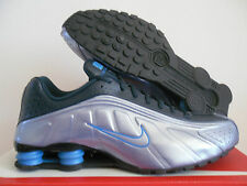 NIKE SHOX R4 ARMRY NAVY-BLUE-GREY-BLACK SZ 11.5 [104265-402]