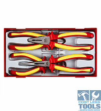 Teng Tools 4 pce 1000 Volt Insulated Plier Set TTV440