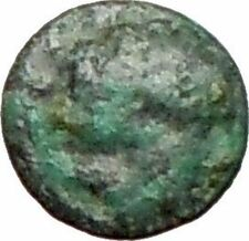 Rhodes off Caria 394BC Rare Ancient Greek Coin Nymph Rhodos Rose i27641