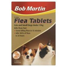 Bob Martin Flea Tablets for Cats Kittens Puppies & Small Dogs 3 Pack