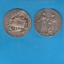 Médaille Argent Ministère de l' Agriculture Concours central de MARSEILLE 1912