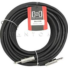 Hosa Technology SKJ-2100 12 AWG REAN 1/4 in Unbalanced Speaker Cable 100' 100ft
