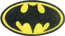 Iron On/ Sew On Embroidered Patch Badge Batman Bat Man Super Hero Logo