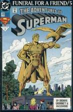 DC COMIC SUPERMAN FUNERAL FOR A FRIEND/5   # 499 BIN 23