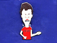 BEAVIS & BUTT-HEAD HAT PIN LAPEL TIE TAC BADGE BUTTHEAD VINTAGE FROM THE 90'S