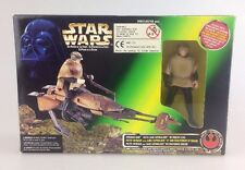 Star Wars Potf-Speeder Bike-poder de la fuerza Sellado Luke Skywalker