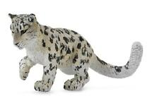 Snow leopard-giovani 8 animali selvatici cm Collecta 88497