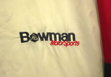 BOWMAN MOTOR SPORTS beat-up jacket XL Dunbrooke windbreaker Karting OHIO racing