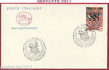 ITALIA FDC IL CAVALLINO CONGRESSO GASTROENTEROLOGIA ENDOSCOPIA ROMA 1988 Z301
