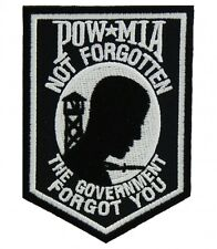 POW MIA Government Forgot You Patch, Military Patches