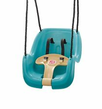 Step2 Infant to Toddler Swing Turquoise NEW Indoor Outdoor Baby Swing Safety