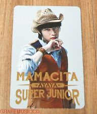 SUPER JUNIOR SJ MAMACITA AYAYA SM LOTTE POP UP HEECHUL PHOTOCARD PHOTO CARD NEW