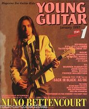 Young Guitar Magazine January 1997 Japan Journey Extreme Ratt G3