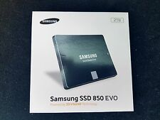 Samsung SSD 850 EVO Series 2TB Solid State Drive, HDD replacement