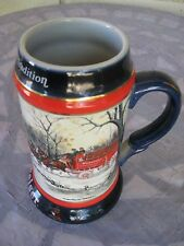 1990 Budweiser Collectable Mug Clydesdale Beer Mug/Cup Stein Ceramic