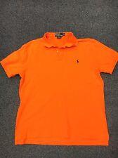 Ralph Lauren Polo Camisa-Naranja Tamaño XL