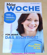 Weight Watchers Meine Woche 19.1 - 25.1 ProPoints Plan 2014 Wochenbroschüre *NEU