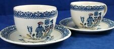 Johnson Brothers HEARTS AND FLOWERS 2 Cup & Saucer Sets Laye Design A+ CONDITION