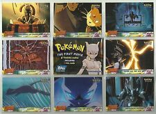 1999 Pokemon: First Movie Complete Set of 72 Base Cards & 18 Stickers W/WRAPPER