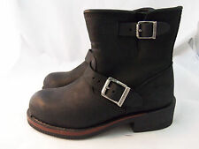 $160 HARLEY DAVIDSON Del Rio Black Motorcycle Engineer Ankle 84272 Boots 6