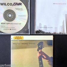 Wilco 3 CD Lot Promos Being There New 2 Disc + Metal Drummer + What Light Sngls