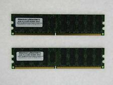 8GB (2x4GB) DDR2-667 PC2-5300 ECC Registered Memory Dell PowerEdge T300 240