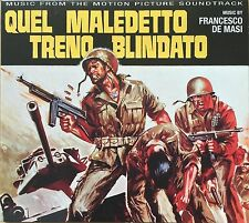 FRANCESCO DE MASI - QUEL MALEDETTO TRENO BLINDATO - soundtrack CD