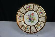 VINTAGE PARAGON CHINA 8902 QUEEN MARY ARTIST SIGNED DINNER PLATE