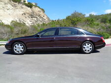 Maybach: 62 One Owner