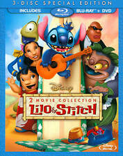 Lilo and Stitch/Lilo and Stitch 2: Stitch Has a Glitch (Blu-ray/DVD, 2013) NEW