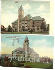 2 Antique RED WING MI Postcards Minnesota STATE TRAINING SCHOOL Main Building