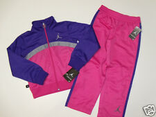 NWT Girls Nike Air Jordan Full Zip Track Jacket Pants Outfit Set 6 NEW Clothes